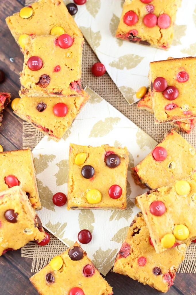 Pumpkin Pie Gooey Butter Bars 13