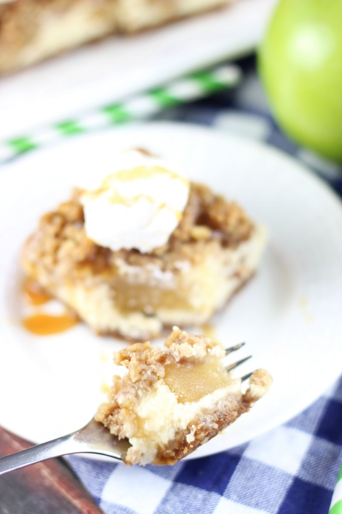 apple cheesecake streusel bars with gingersnap walnut crust 19