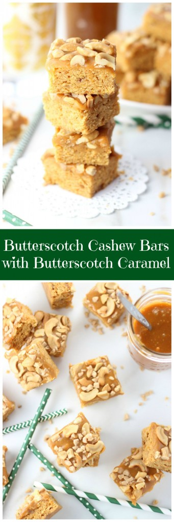 butterscotch cashew bars with butterscotch caramel 14