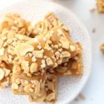 Butterscotch Cashew Caramel Bars
