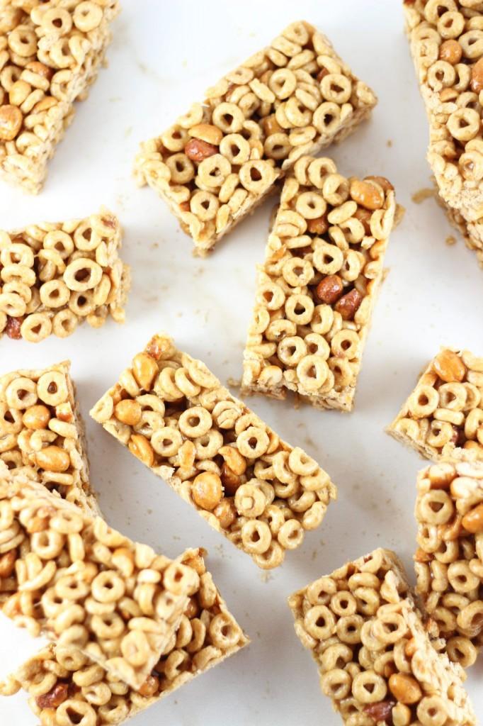 honey nut cheerios cereal bars 25