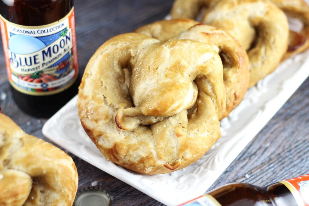 pumpkin beer soft pretzels 6