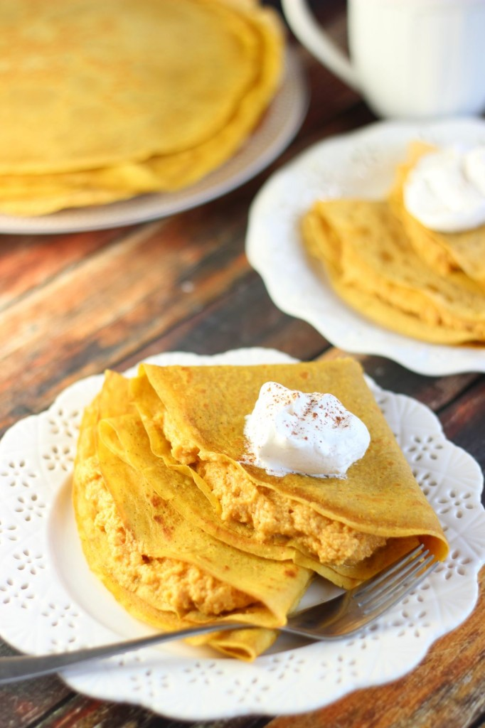 pumpkin crepes with pumpkin cheesecake filling (11)