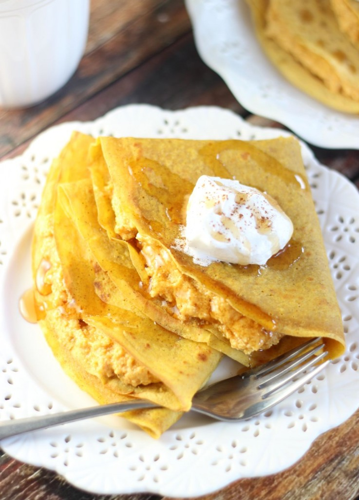 pumpkin crepes with pumpkin cheesecake filling (16)