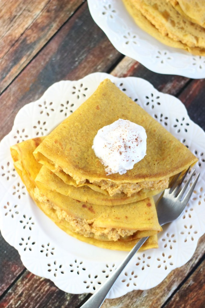 pumpkin crepes with pumpkin cheesecake filling (7)