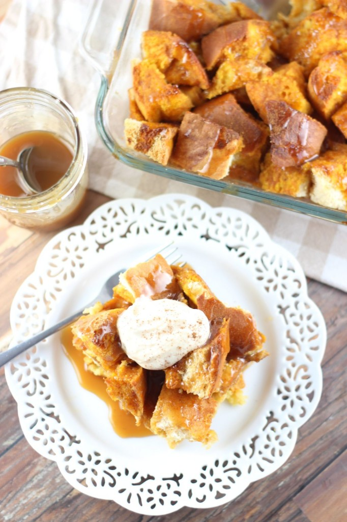 pumpkin french toast casserole 14