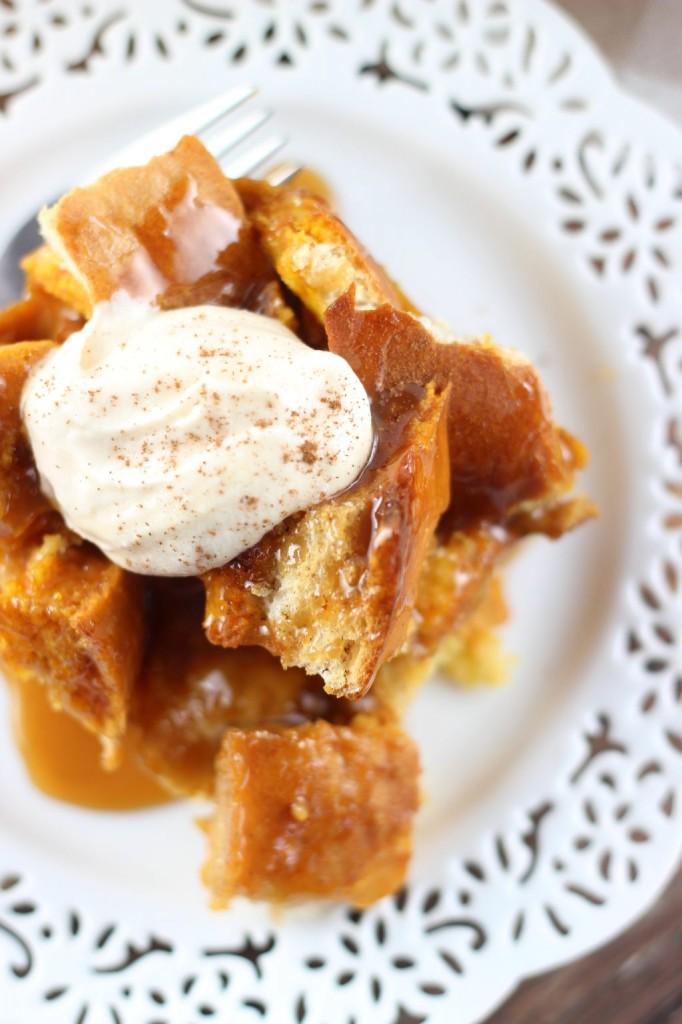pumpkin french toast casserole 15