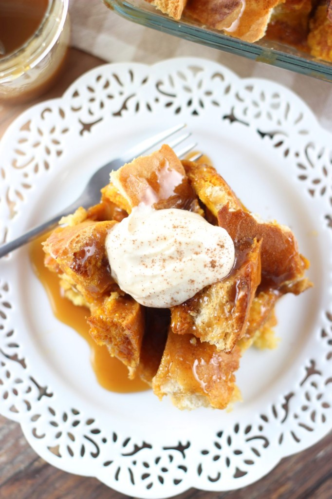 pumpkin french toast casserole 16