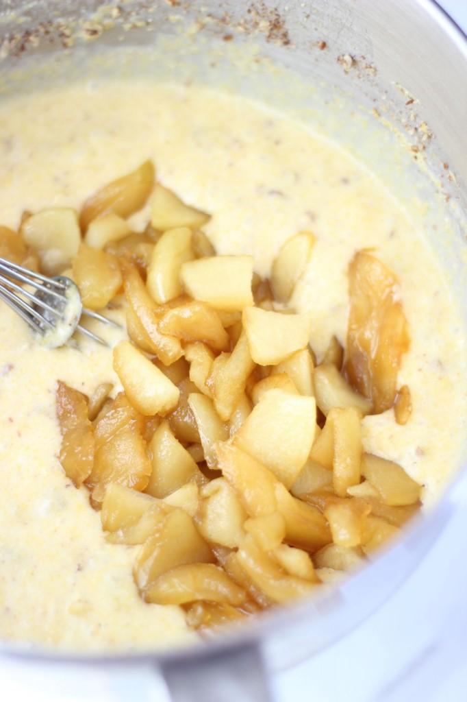 caramelized apple & pecan cornbread 4