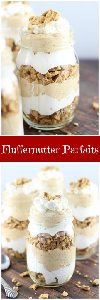 fluffernutter parfaits 22