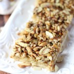 Rustic Nut Shortbread Bars