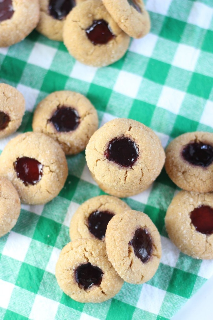 peanut butter & jelly thumbprints 18