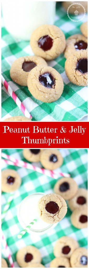 peanut butter & jelly thumbprints pin