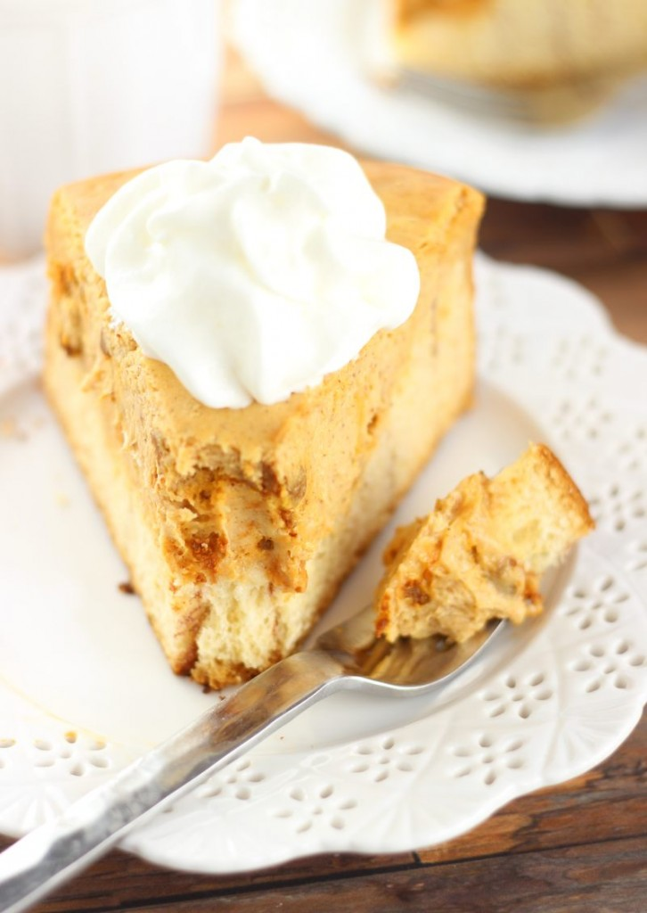 cinnamon roll pumpkin cheesecake 10