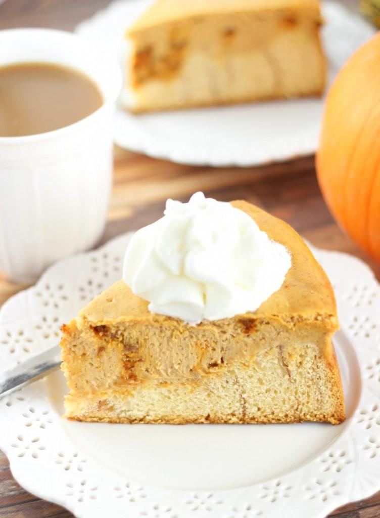 cinnamon roll pumpkin cheesecake 3