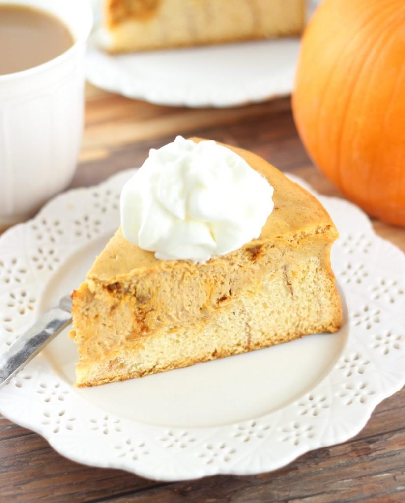 cinnamon roll pumpkin cheesecake 7