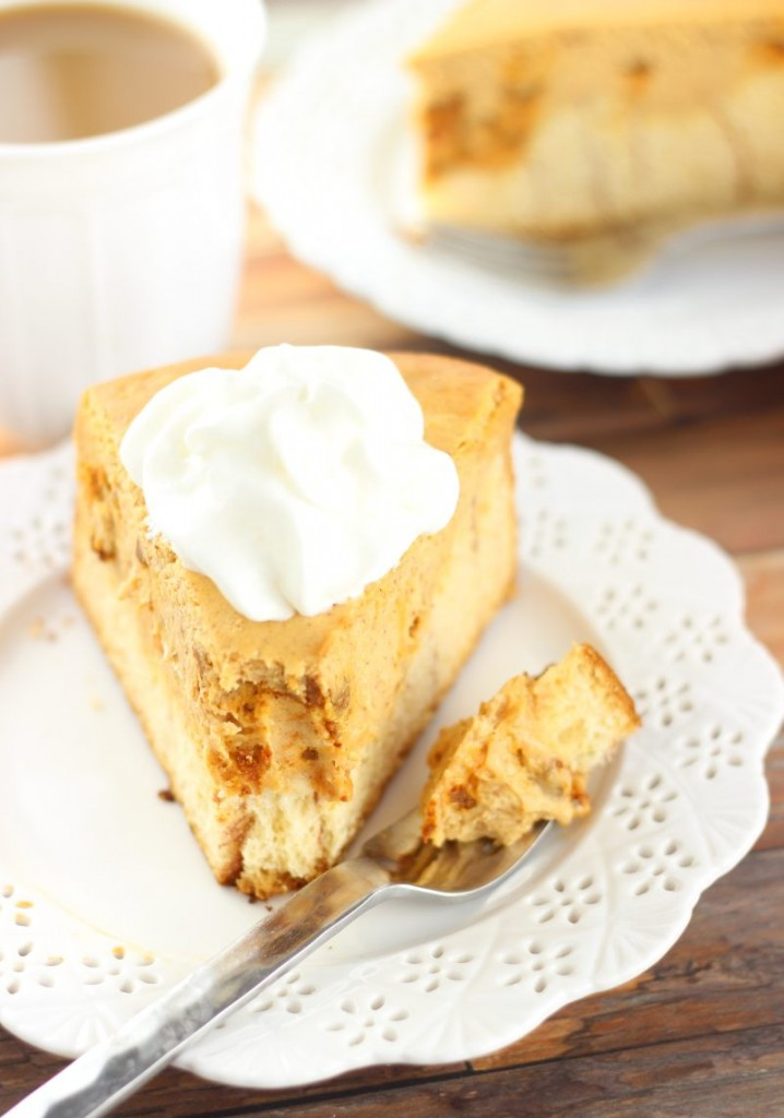 cinnamon roll pumpkin cheesecake 8
