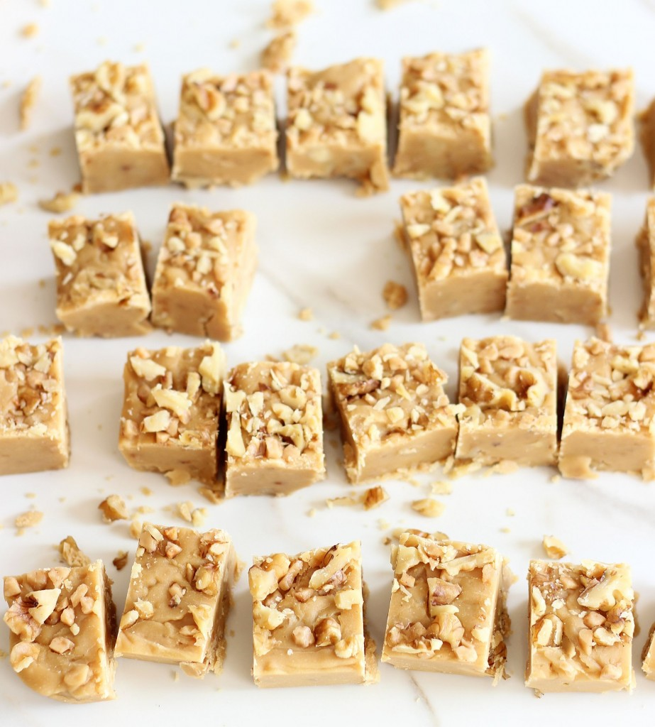 maple toffee walnut fudge 12