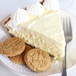 no bake eggnog cheesecake with gingersnap crust 13