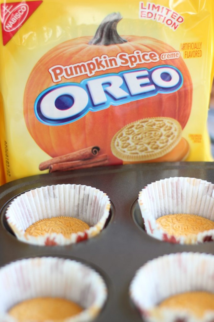 pumpkin spice oreo cheesecakes 1