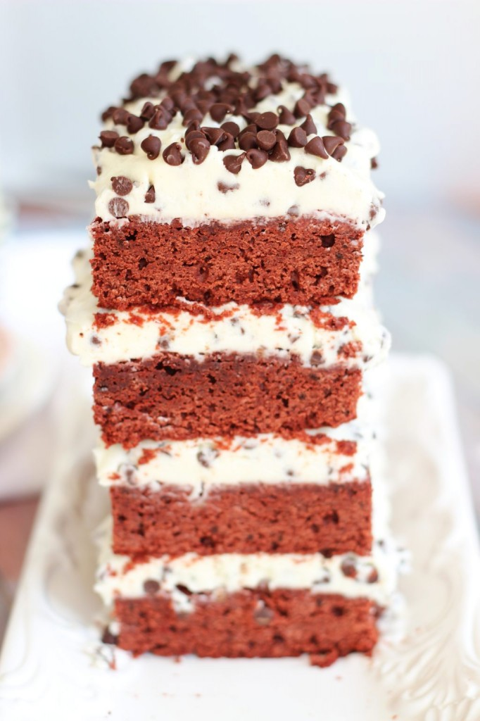 red velvet brownie torte 28