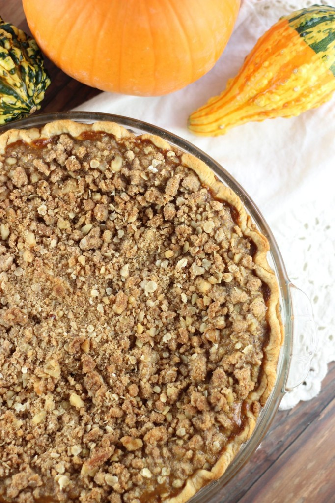 walnut streusel pumpkin pie 12