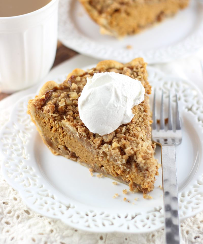 walnut streusel pumpkin pie 20