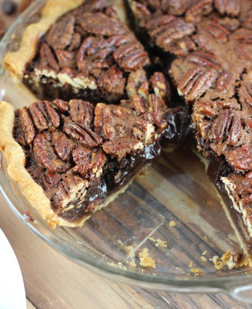 chocolate espresso pecan pie 10