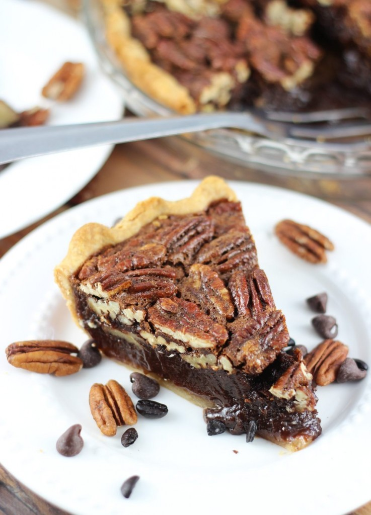 chocolate espresso pecan pie 21