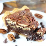 Chocolate Espresso Pecan Pie
