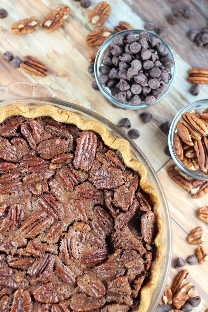 chocolate espresso pecan pie 4