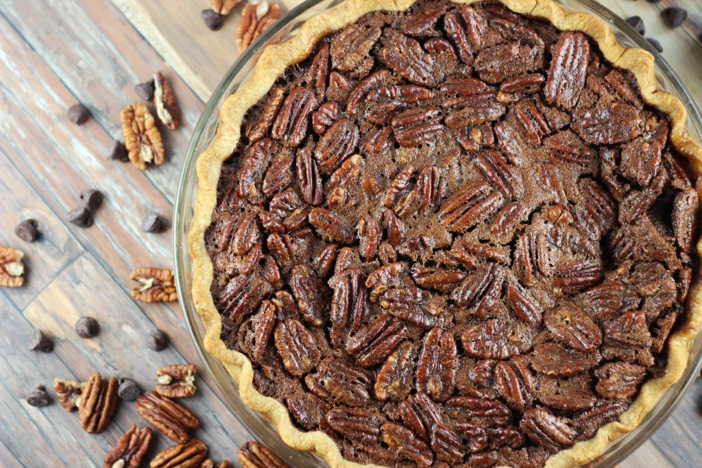 chocolate espresso pecan pie 7