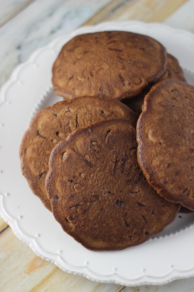 chocolate irish cream pancakes