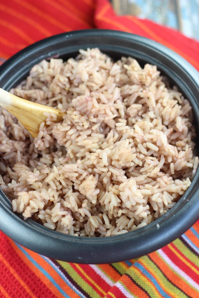 coconut milk guava rice pudding