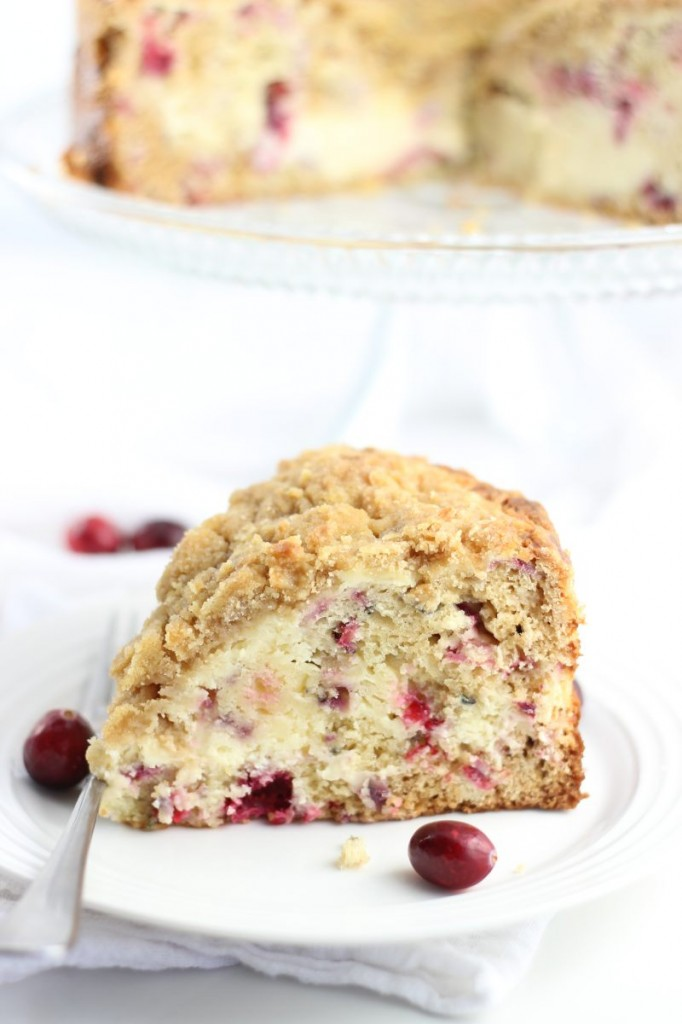 cranberry cheesecake crumb coffee cake 1