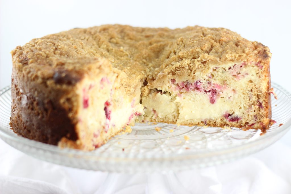 cranberry cheesecake crumb coffee cake 6