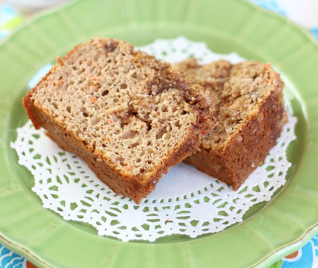 easiest carrot cream cheese bread 6