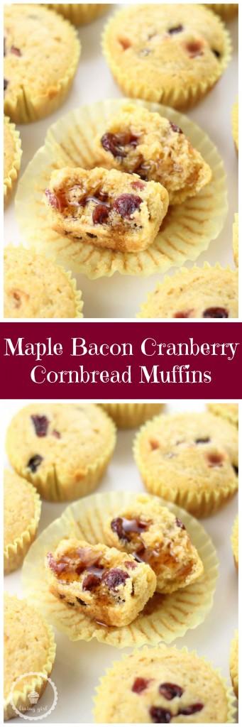 maple bacon cranberry cornbread pin