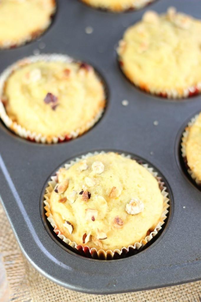 orange cardamom & hazelnut muffins 1