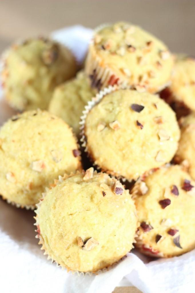 orange cardamom & hazelnut muffins 11