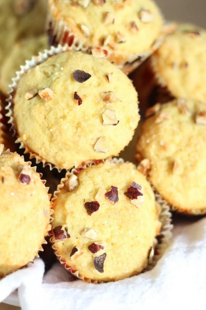 orange cardamom & hazelnut muffins 13