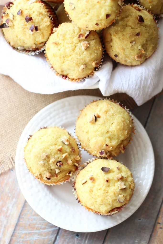 orange cardamom & hazelnut muffins 15