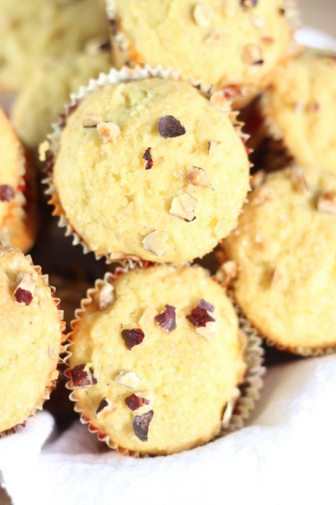 orange cardamom & hazelnut muffins 8