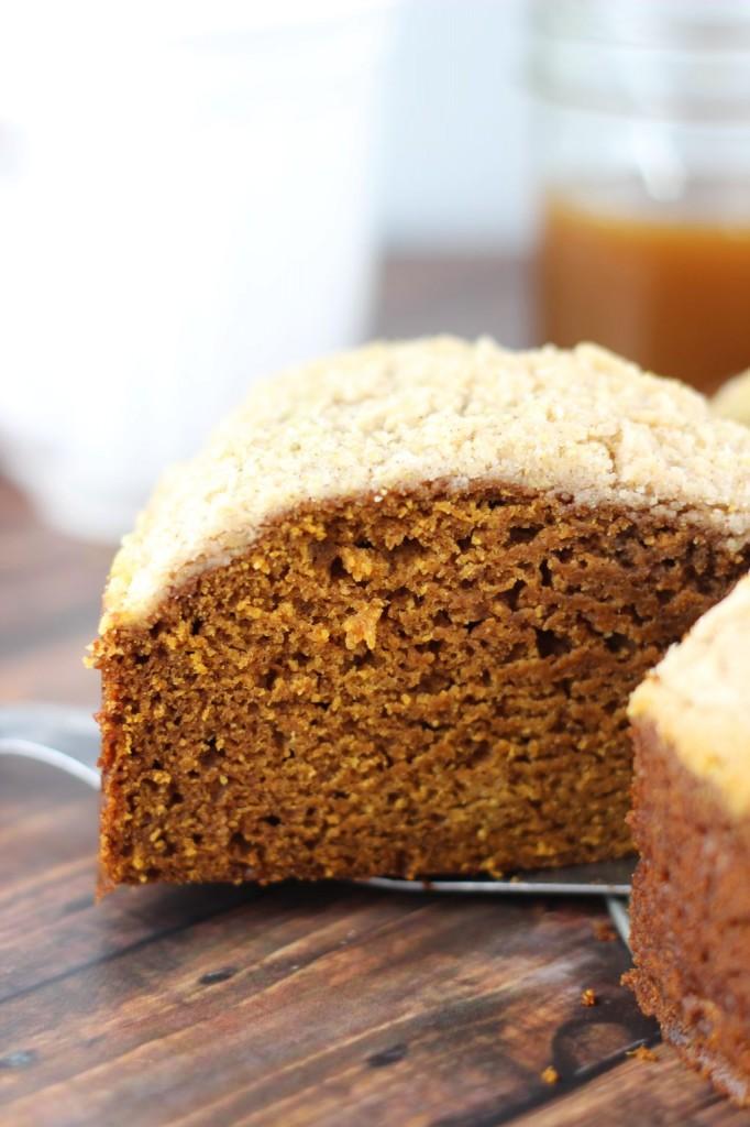 pumpkin gingerbread crumb coffee cake 17
