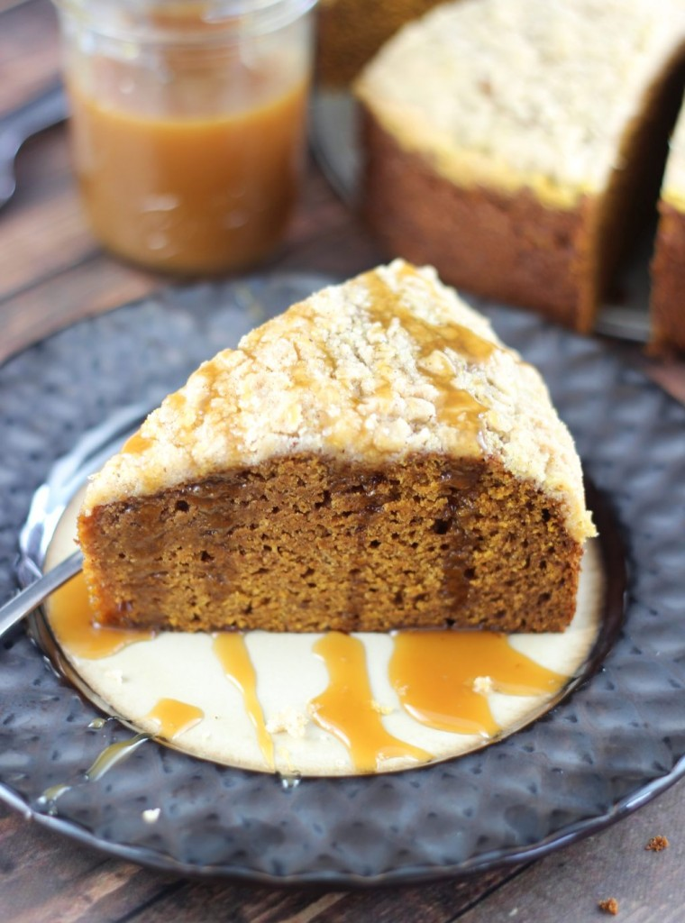 pumpkin gingerbread crumb coffee cake 25