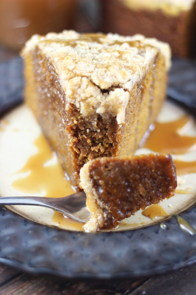 pumpkin gingerbread crumb coffee cake 28