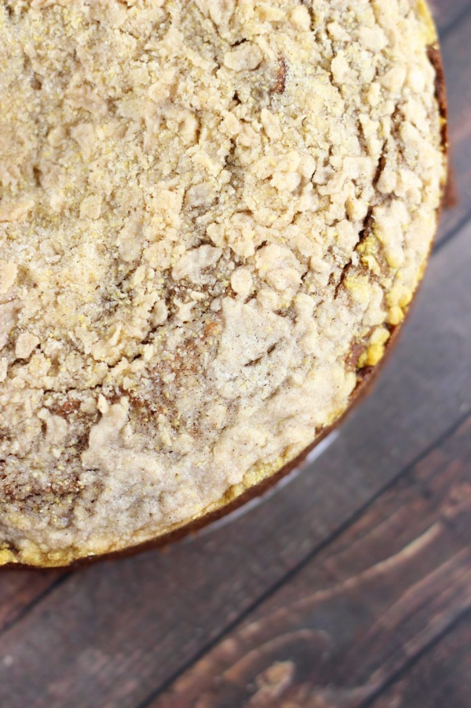 pumpkin gingerbread crumb coffee cake 7