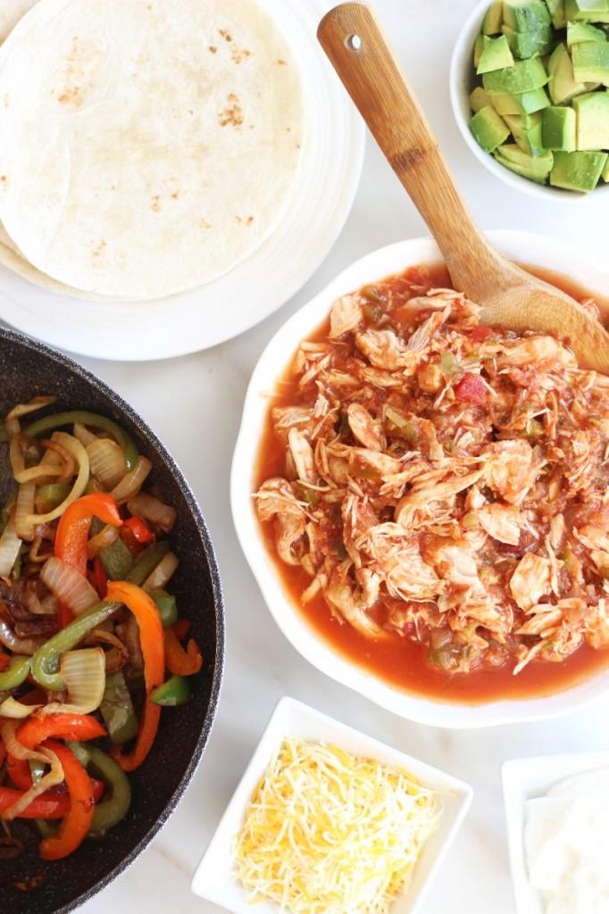 salsa chicken fajitas 10