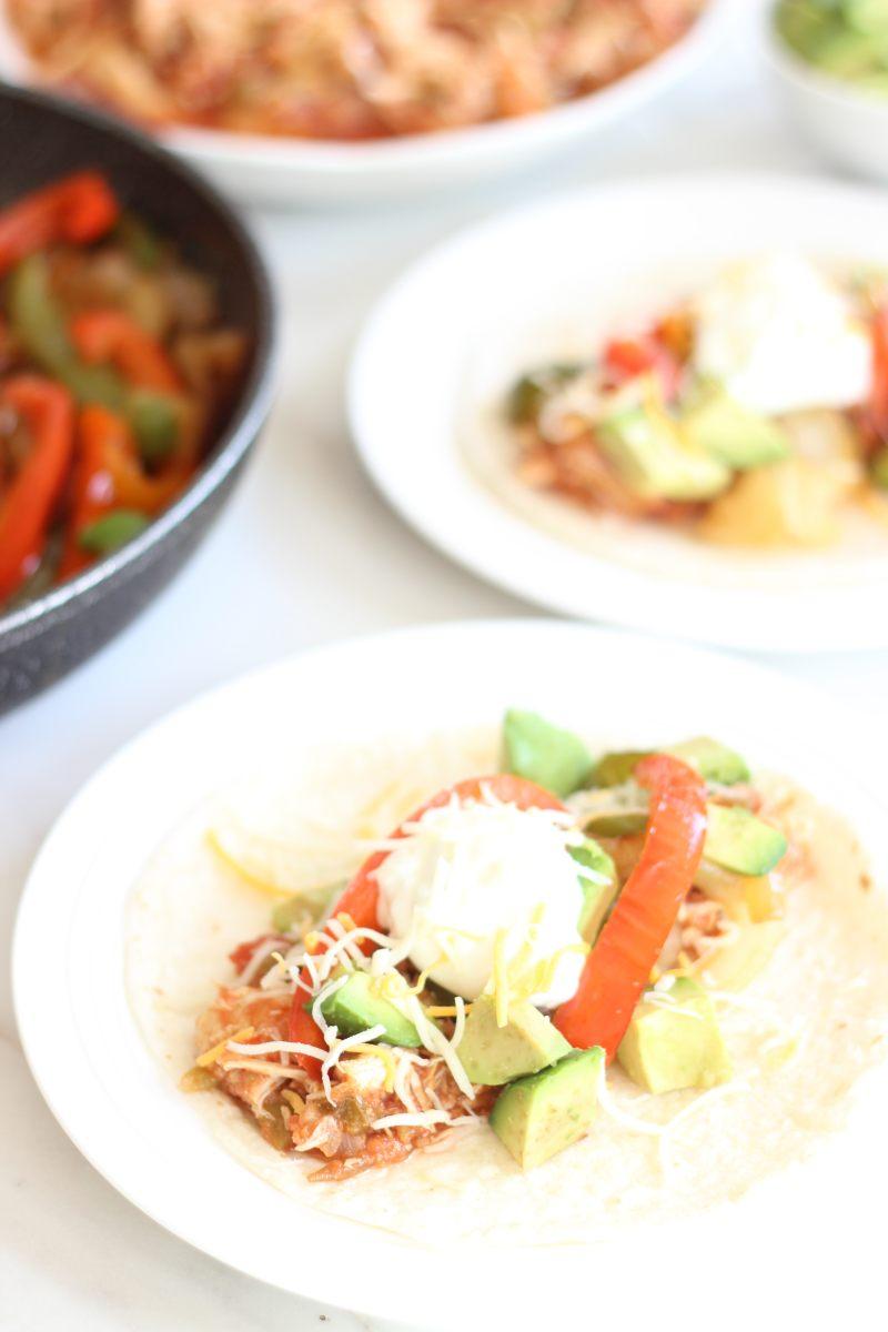 Salsa chicken fajitas forumfinder Image collections