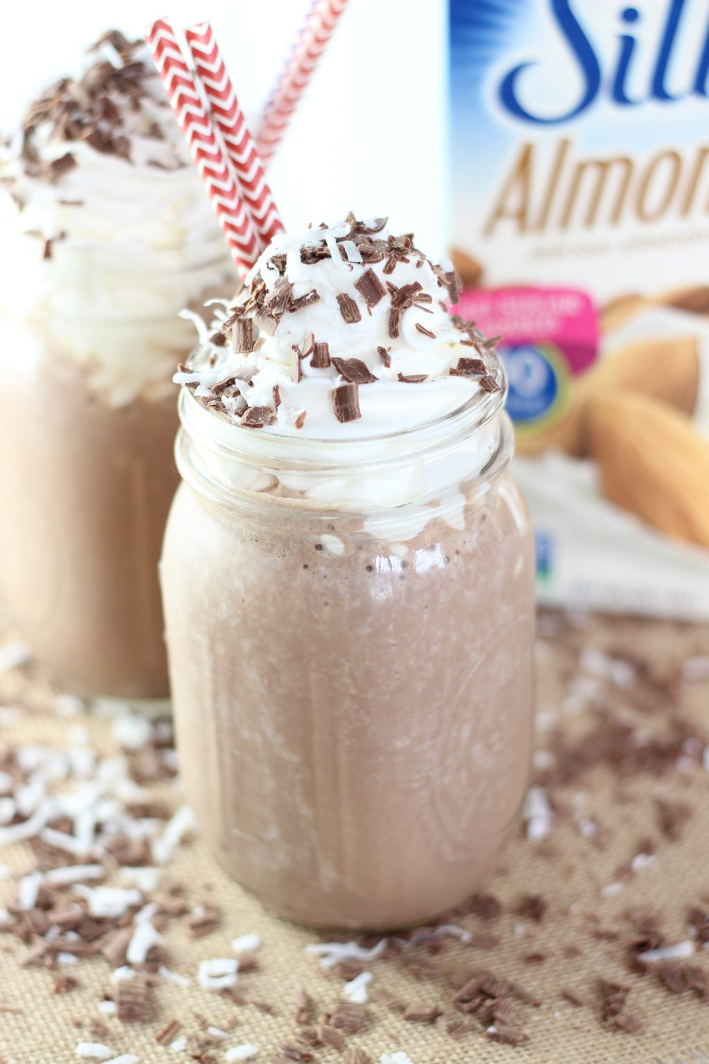 Almond Coconut Mocha Protein Smoothie 10